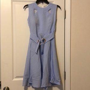 Dresses & Skirts - Blue Plaid Dress